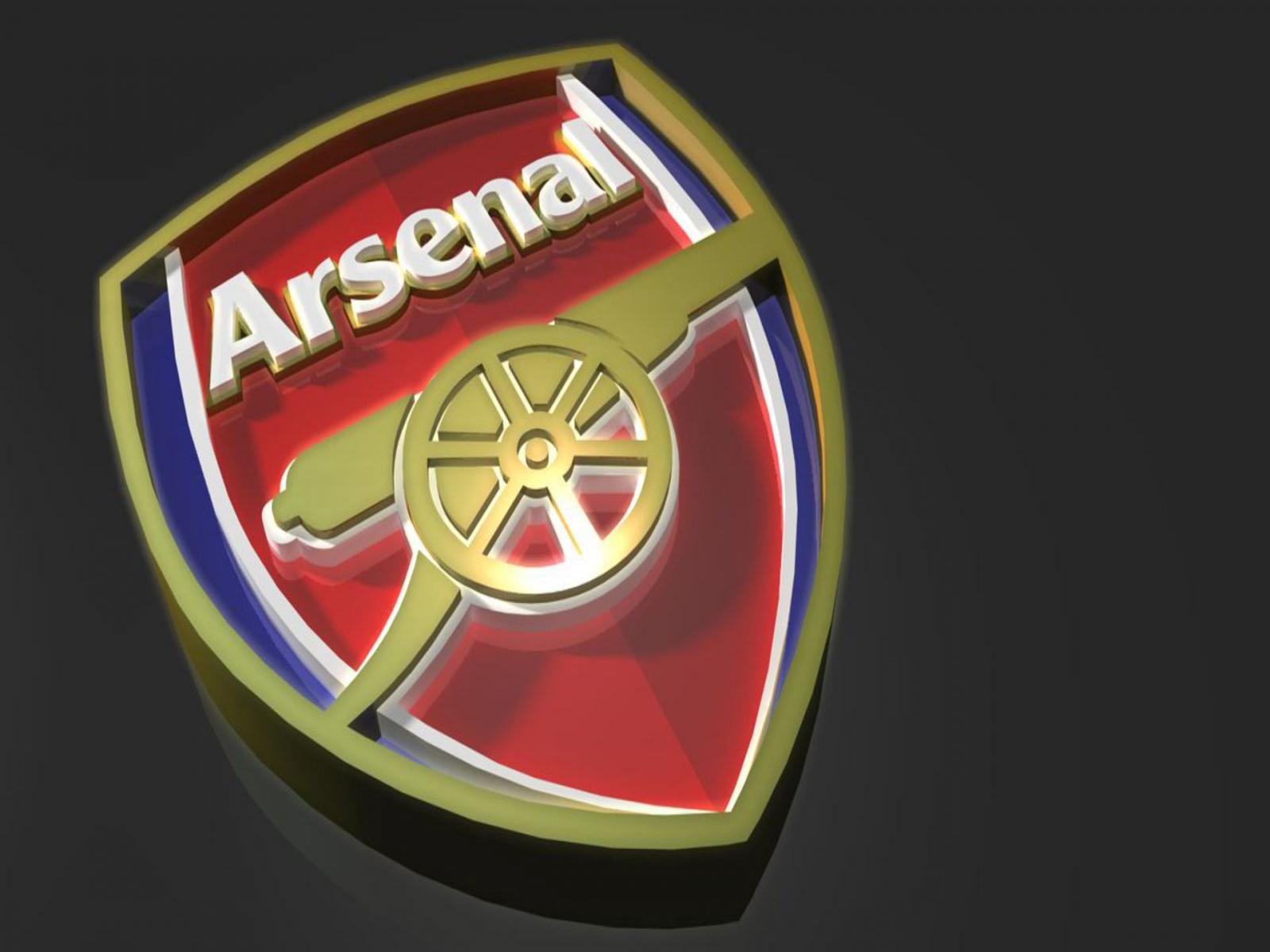 Arsenal FC Logo 3D wallpapers HD
