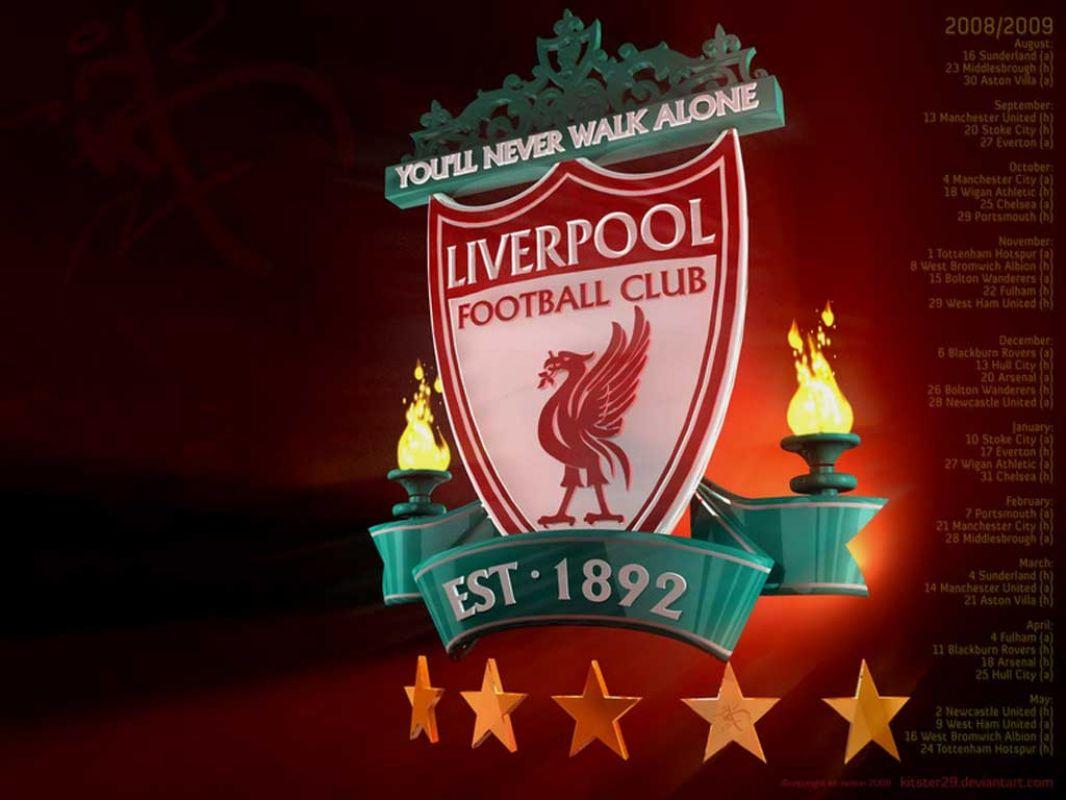 Liverpool FC Logo 3D wallpapers HD