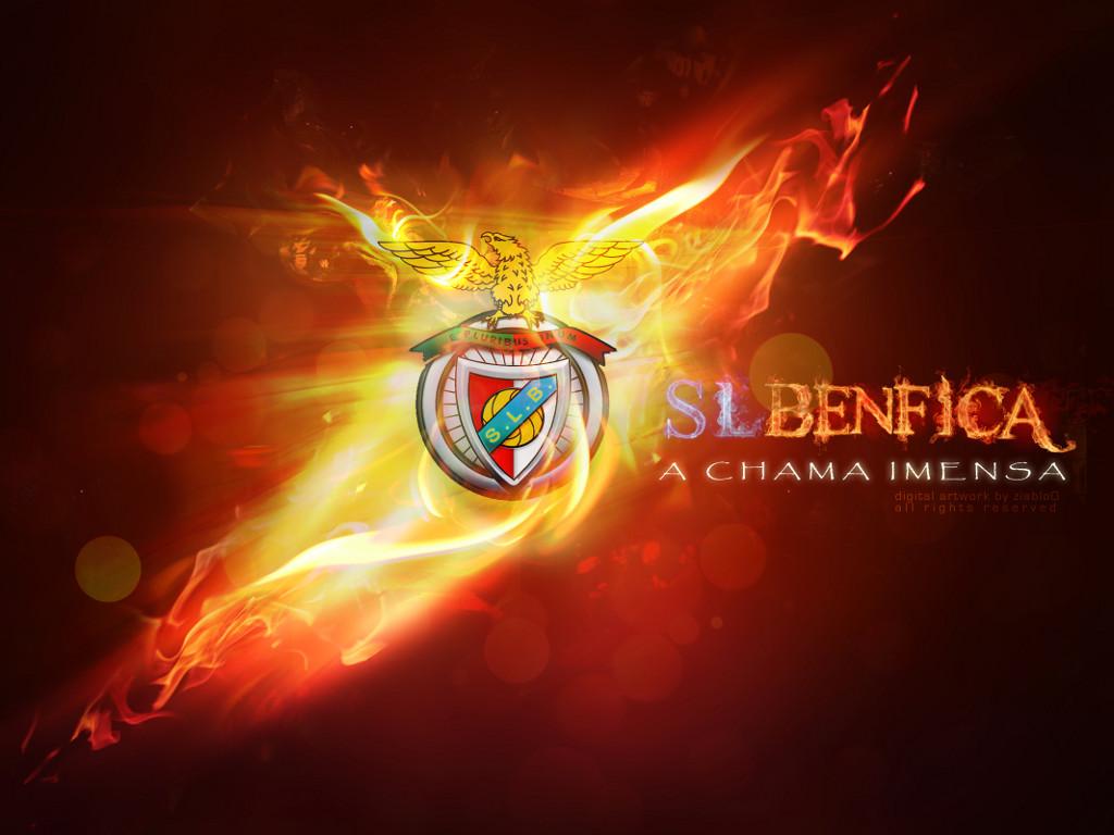 SL Benfica Logo 3D wallpapers HD