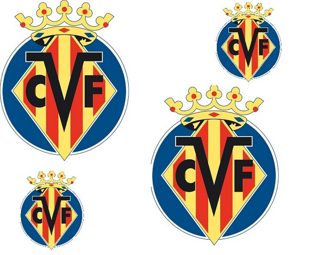 Villarreal CF Logo 3D wallpapers HD