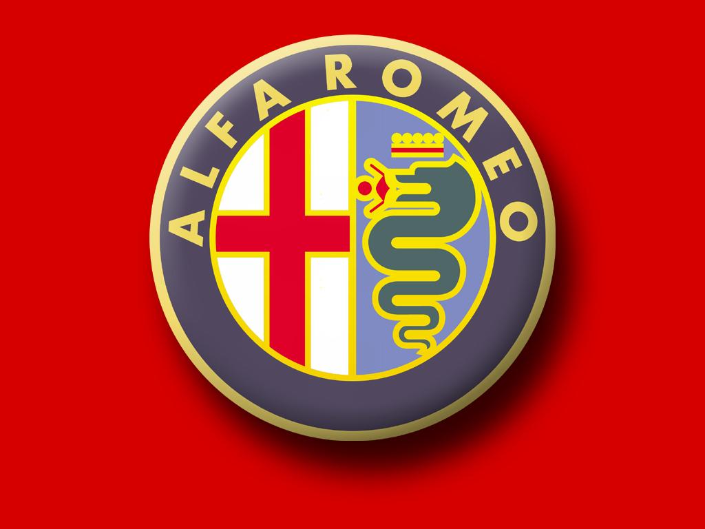 Alfa Romeo logo wallpapers HD