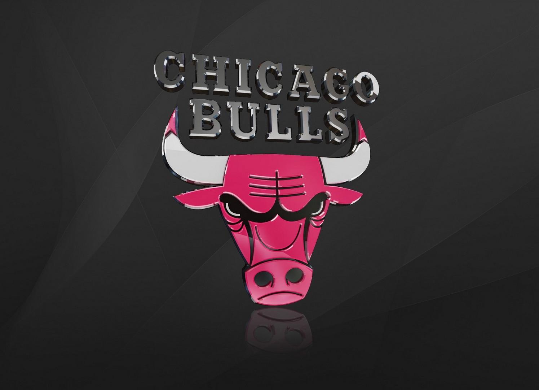 Chicago Bulls Logo 3D wallpapers HD