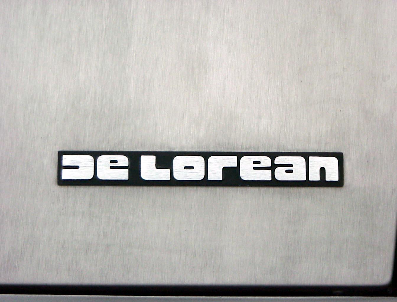 DeLorean logo wallpapers HD