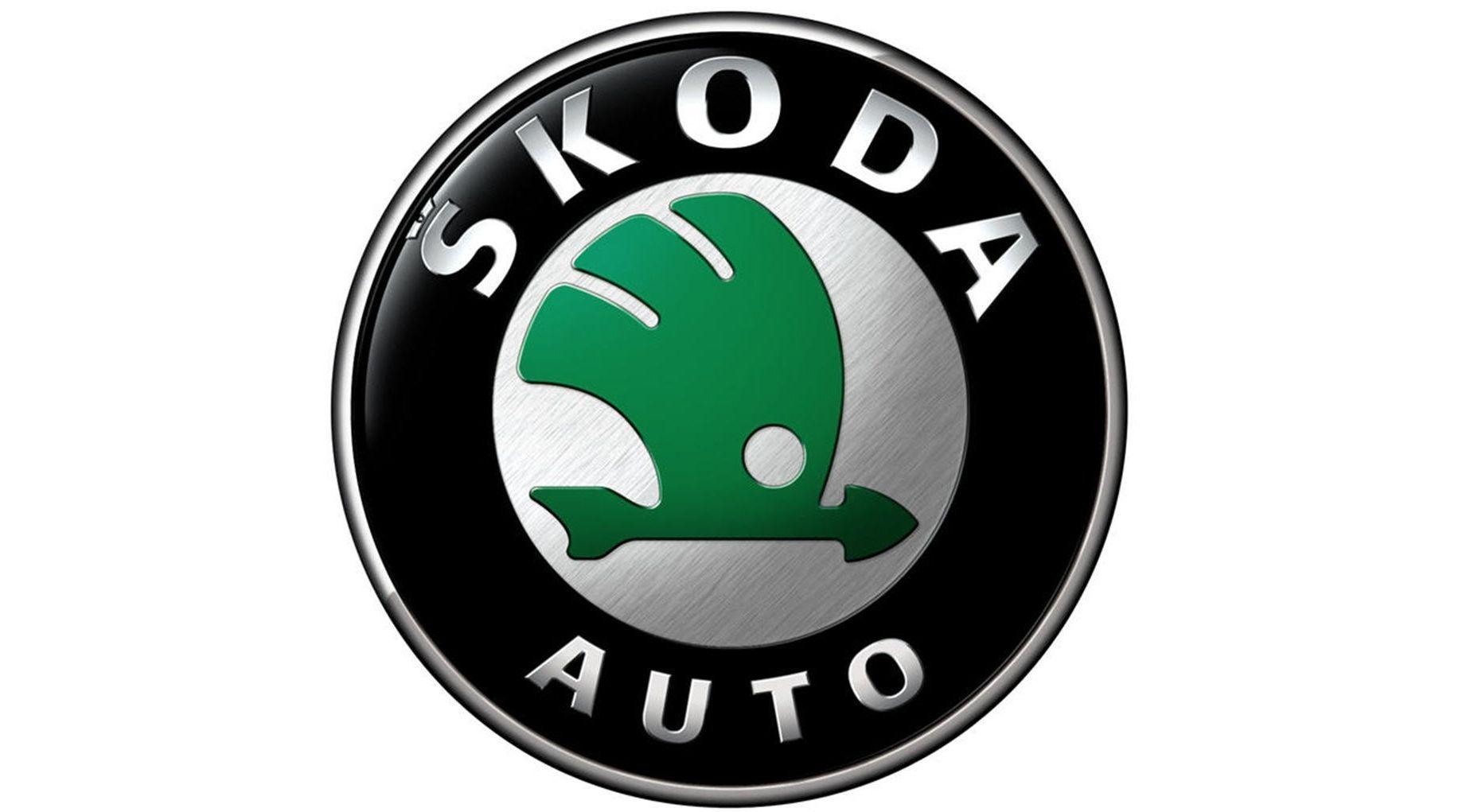 Skoda logo wallpapers HD