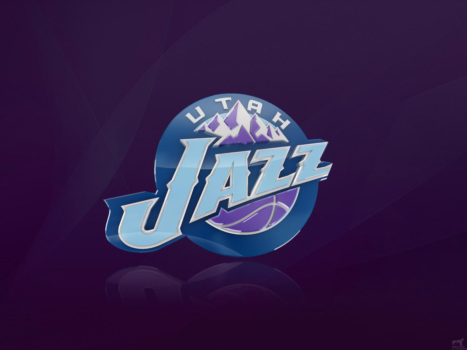 Utah Jazz Logo 3D wallpapers HD