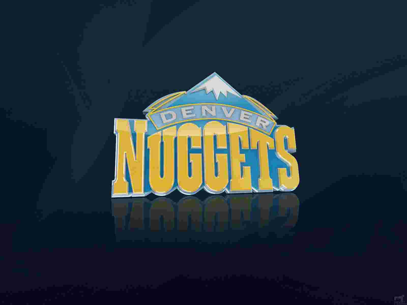 Denver Nuggets Logo 3D wallpapers HD