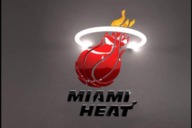 Miami Heat Logo 3D wallpapers HD