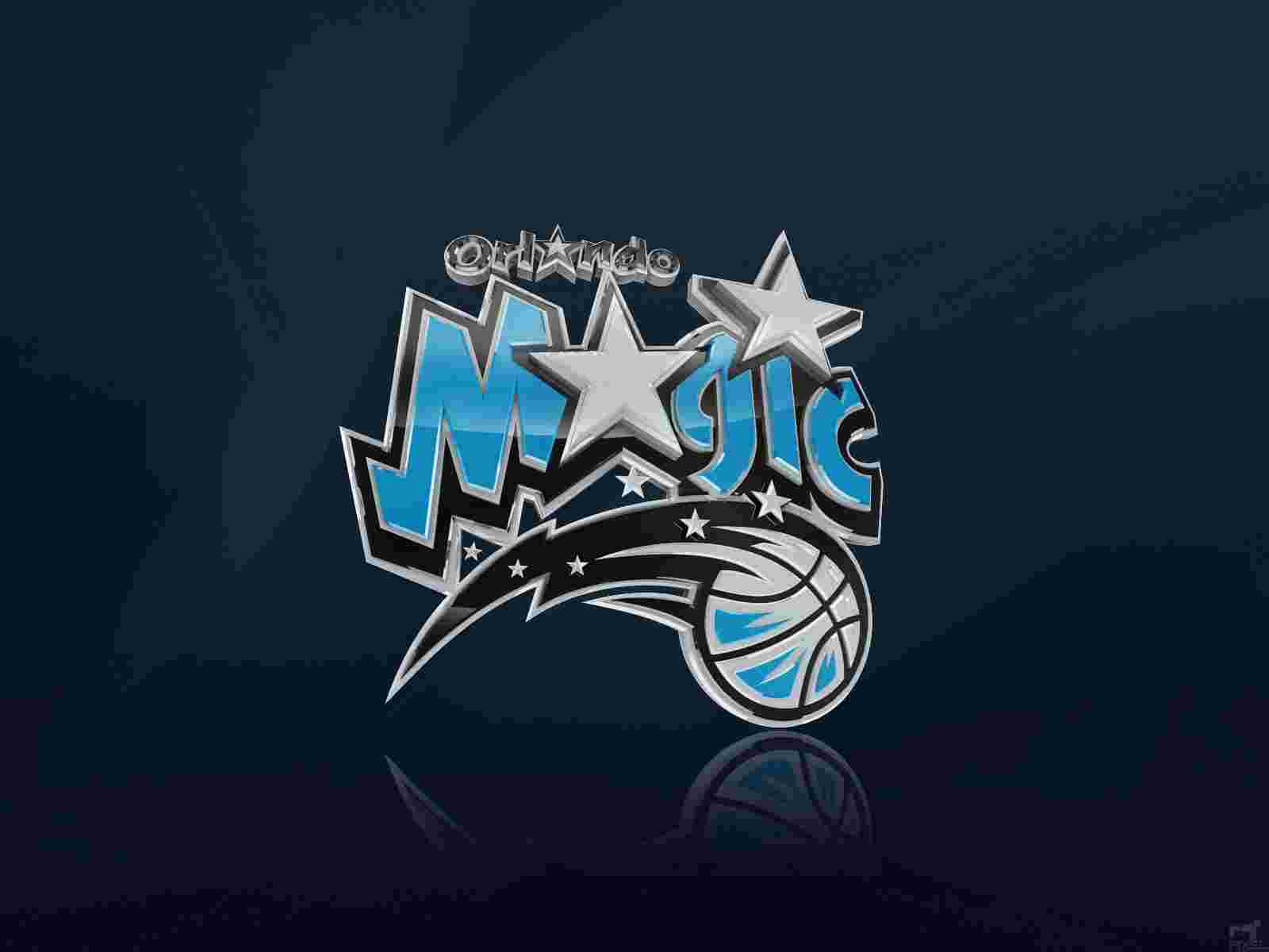 Orlando Magic Logo 3D wallpapers HD