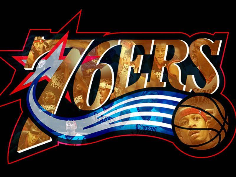 Philadelphia 76ers Logo 3D wallpapers HD