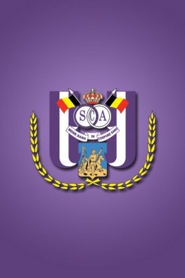RSC Anderlecht Logo 3D wallpapers HD