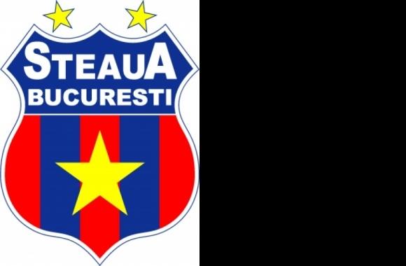 Fotbal Club Steaua  Logo  Emblema Noua