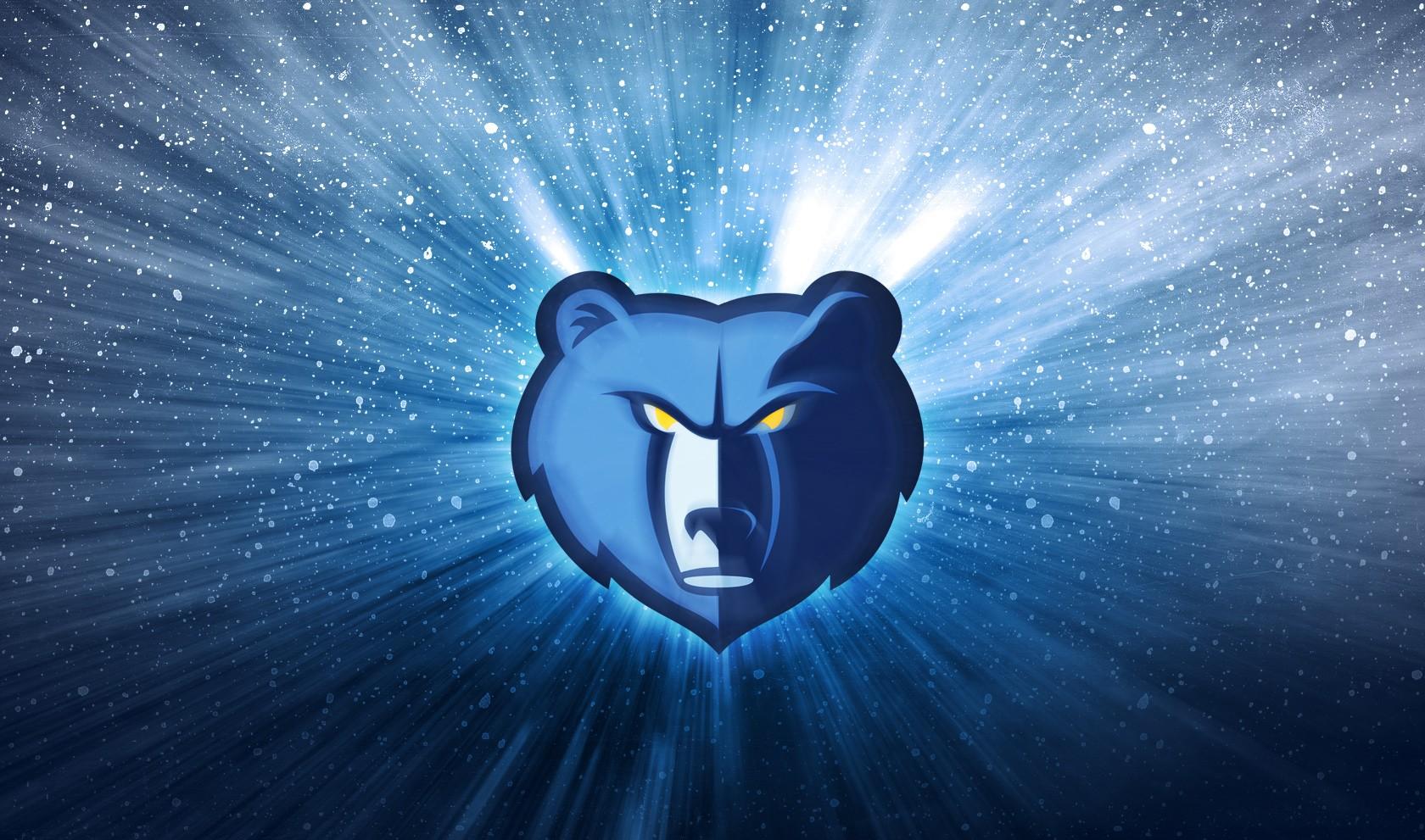 Memphis Grizzlies Logo 3D wallpapers HD