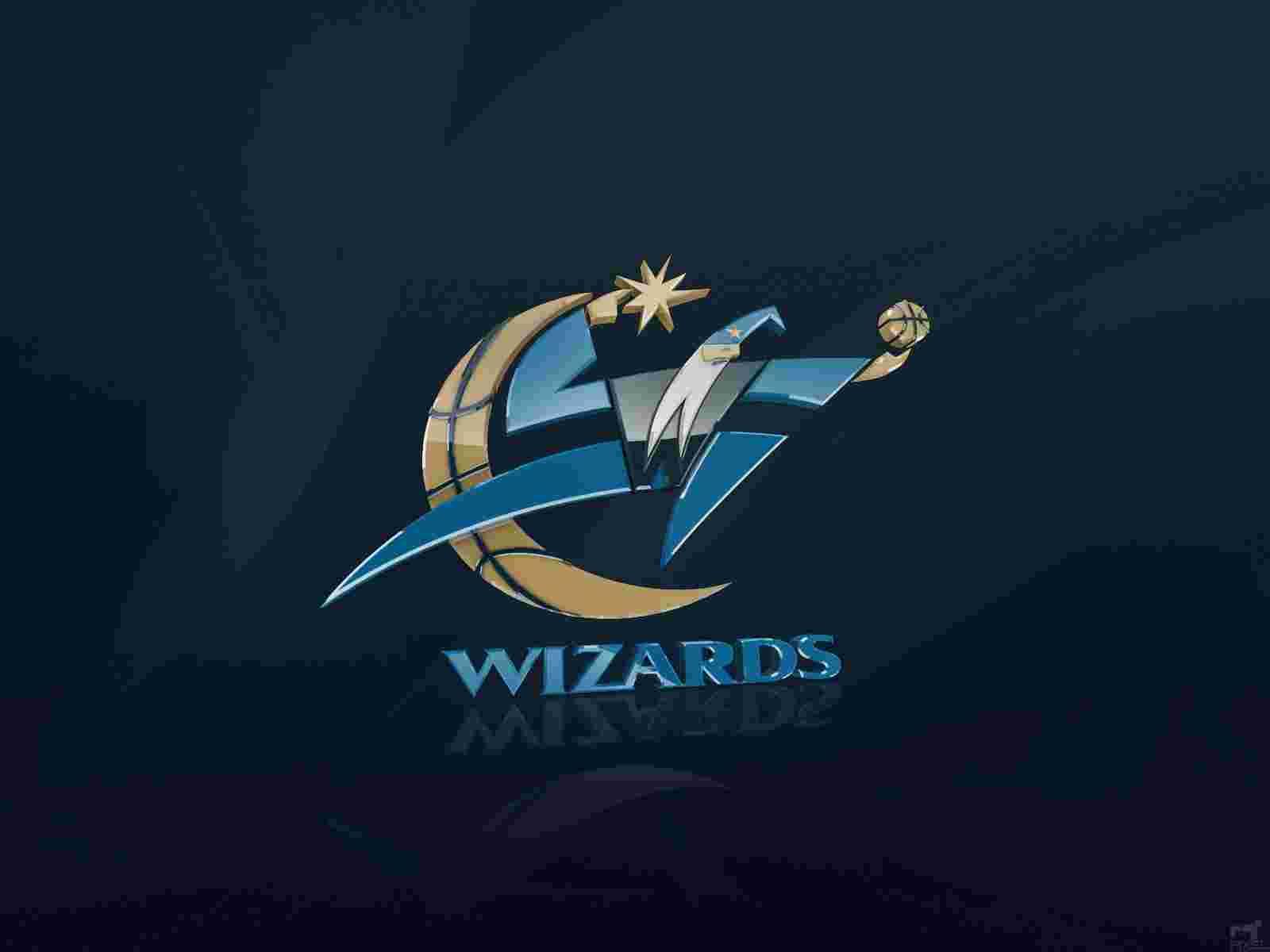 Washington Wizards logo 3D wallpapers HD