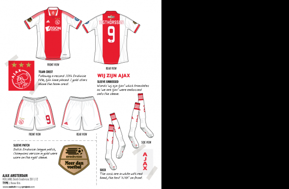 AFC Ajax Symbol download in high quality
