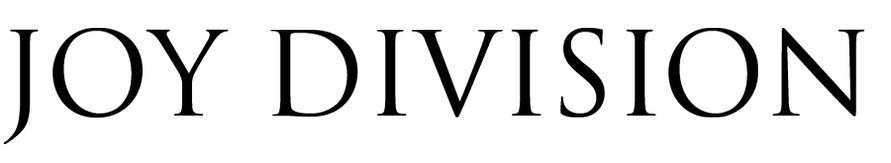 Joy Division Logo wallpapers HD