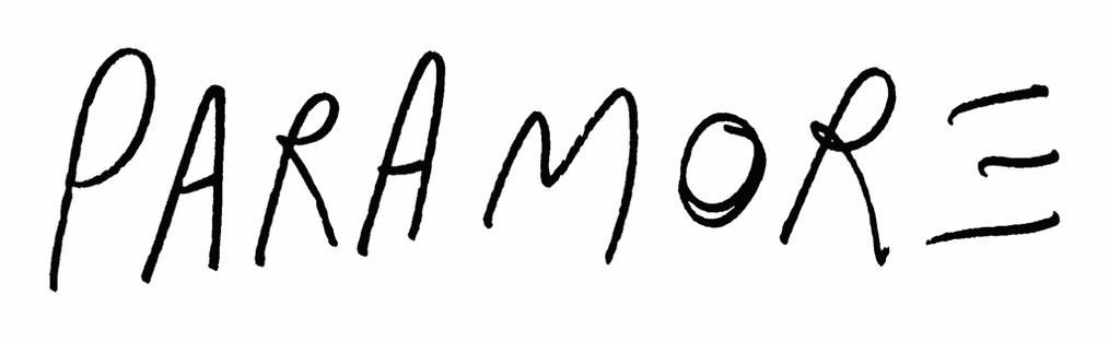 Paramore Logo wallpapers HD