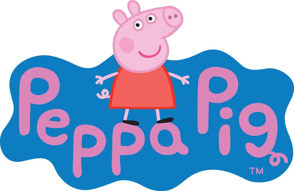 Peppa Pig Logo wallpapers HD