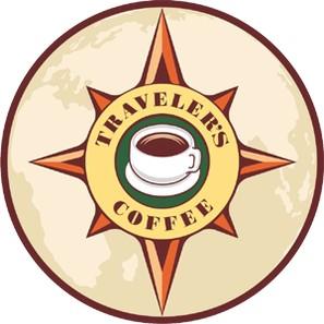 Traveler's Coffee Logo wallpapers HD