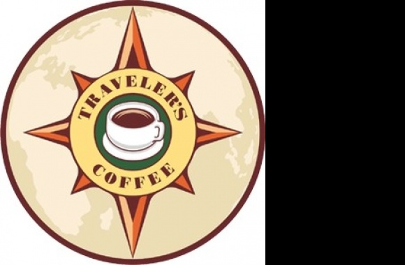 Traveler's Coffee Logo download in high quality